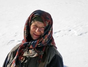Агафья Лыкова, таежная жительница