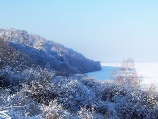 Озеро Иткуль зимой