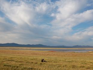 Участок Камызякская степь с озером Улуг-Коль