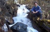 Безымянный горный ручей