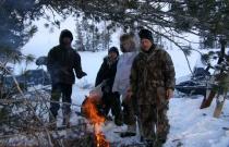 Зимние учеты животных
