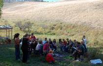 Стояночный лагерь в Оглахты (автор Е. Ким)