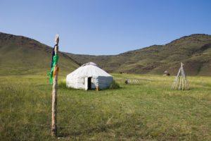 Экстерьер жилого комплекса Кыргызской археологической эпохи