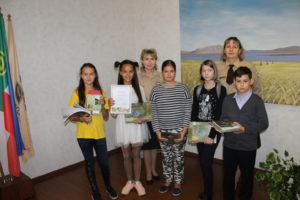 Участники и победители интеллектуальной игры мой заповедник Хакасский
