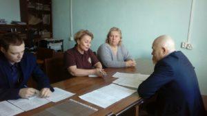 Рабочая встреча представителей заповедника «Хакасский» с Администрацией Таштыпского района