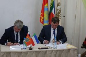 Подписание Соглашения сотрудничестве Таштыпского района РХ и заповедника Хакасский