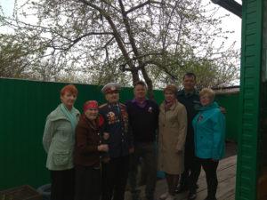 Поздравление ветеранов Ширинского района