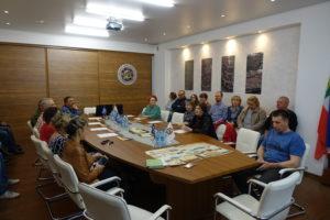 Рабочее совещание Хакасского и Новосибирского региональных отделений РГО