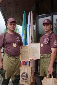 Победители VII тренинг-семинара государственных инспекторов Алтае-Саянского экорегиона