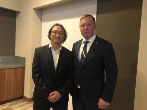 Встреча Виктора Непомнящего с представителями проекта по реинтродукции лошади Пржевальского из Монголии