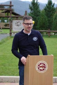 Исполнительный директор Русского географического общества - Алексей Тихомиров