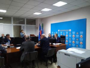 Заседании Комиссии по ЧС
