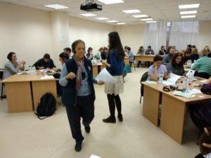 Карин Костнер - тренер семинара