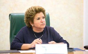 Любовь Глебова - Первый заместитель председателя Комитета Совета Федерации по Регламенту и организации парламентской деятельности
