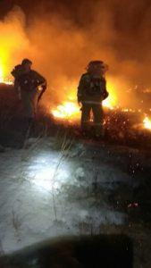 Предотвращено второе возгорание за март 2020 г