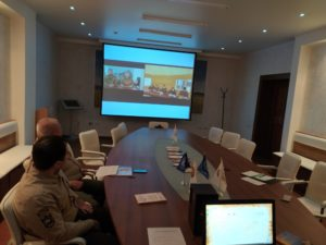 Видео связь с участниками семинара