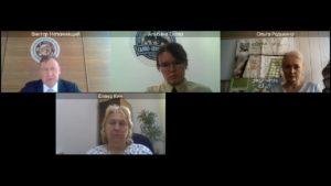 Участники онлайн конференции