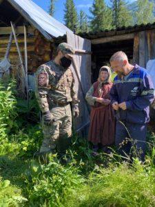 Антон Лыков поможет Агафье по хозяйству