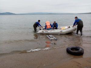 На озере Иткуль исследуют донные отложения