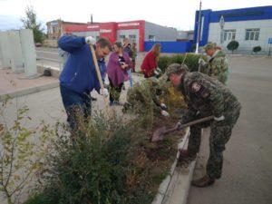 Мероприятие по посадке деревьев в рамках общероссийского движения «Зеленая Россия»