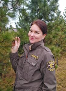 Потылицына Уляьна Михайловна - пресс-секретарь