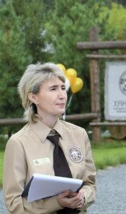 Заместитель директора по экологическому просвещению Наталья Геннадьевна Таирова