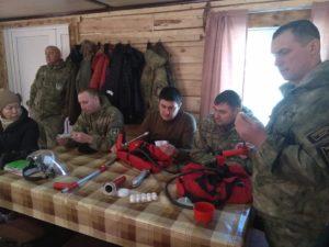 """На базе хакасского регионального заказника """"Кискачинский"""" прошли практические занятия обучающего курса"""