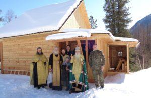 Агафья Лыкова встретила гостей в новом доме