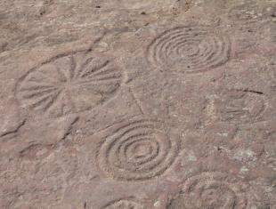 Фрагмент Шаман-камня