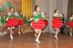 Танцевальный подарок для гостей фестиваля