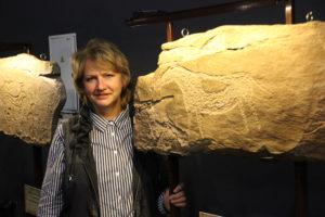 Елена Миклашевич - вице-президент Сибирской Ассоциации исследователей первобытного искусства