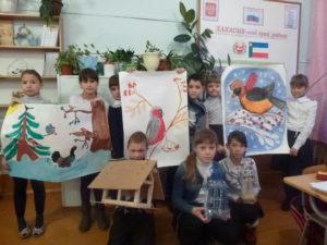 Участники акции в Ширинском районе