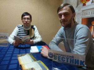 Встреча с журналистами в Ширинском районе