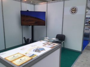 Khakassky Reserve's exhibition stand