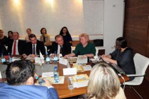 Выступление участников совещания