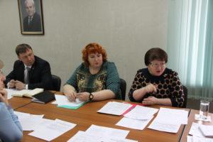 Участники совещания по реализации Международных мероприятий в сфере экологического воспитания