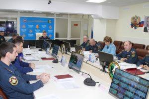 Межведомственное совещание по предупреждению природных пожаров в Сибири, на Урале и ДВ