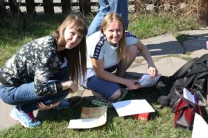 Практические занятия в Школе экскурсовода