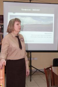 Viktoria Shurkina, Khakassky Reserve's deputy director for research