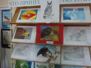 Art exhibition in Shira Central Library