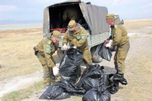 Весь сбранный мусор госинспекторы вывезли с территории