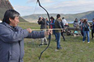 Мастер класс по стрельбе из лука, Кыргызская археологическая эпоха
