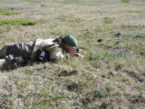 Field work at Pozarym Wildlife Refuge
