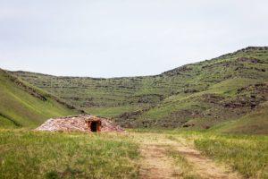 Экстерьер жилого комплекса, Таштыкская археологическая эпоха