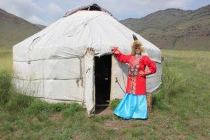 Женский костюм Кыргызской археологической эпохи