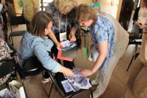 Гости принимают участие в презентации Живых уроков - Оглахты