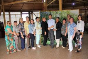 Участники секции Природа, общество, образование как основы становления личности