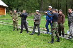 Соревнования в стрельбе по мишеням