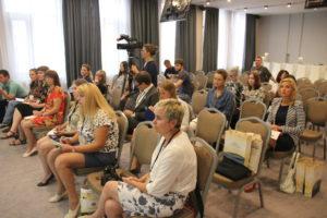 Участники пленарного заседания тренинг-семинара