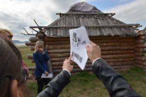 """Древние жилища """"Поселка предков"""""""